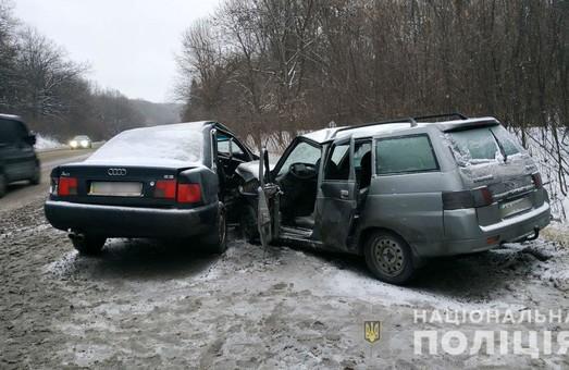На Харківщині в результаті ДТП постраждали 5 осіб