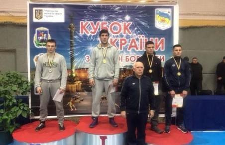На чемпіонаті України з вільної боротьби серед чоловіків харків'яни вибороли 7 нагород