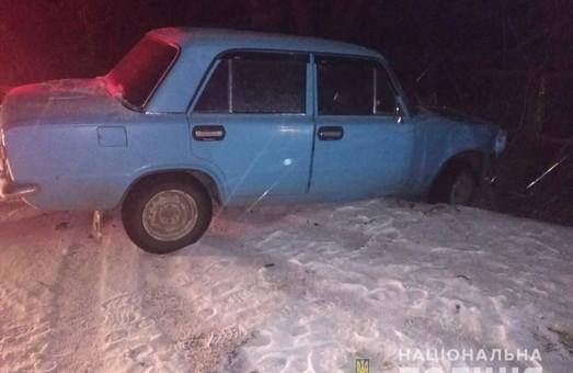 На Харківщині чоловік поцупив автомобіль та потрапив на ньому в аварію