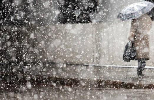 Завтра на харків'ян очкує сніг з дощем