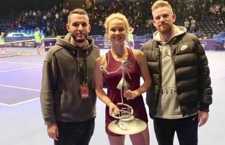 Харківська тенісистка перемогла на турнірі в Франції