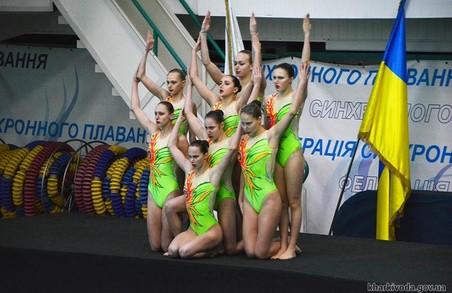 Харківські синхроністки впевнено перемогли на домашньому Кубку України
