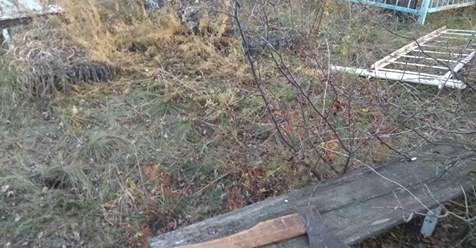 На Харківщині затримали чоловіка, що скоїв наругу над могилою