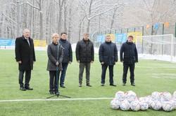 Світлична побувала на відкритті футбольного поля у вищому училищі фізкультури