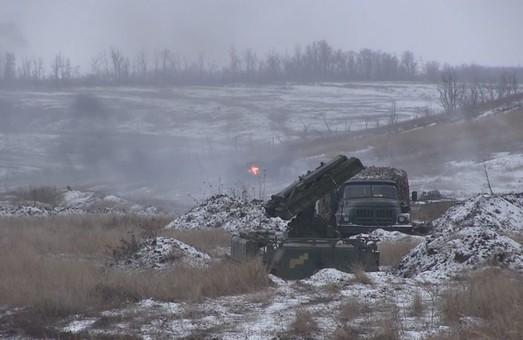 На Донбасі бойовики 5 разів обстріляли українські позиції