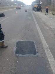 Триває аварійний ямковий ремонт на дорогах державного значення Харківщини (ФОТО)