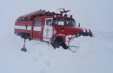 На Харківщині 9 разів знадобилась допомога людям, які потрапили в складні погодні умови(Фото)