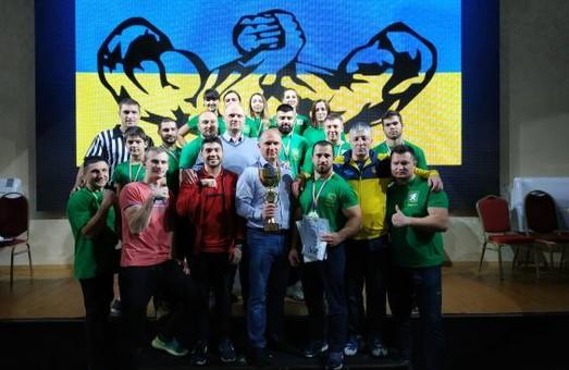 Харківські спортсмени стали переможцями Кубку України з армспорту