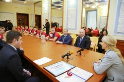 Світлична привітала харківську команду «Легіон XIII» з черговим переможним сезоном