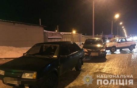 За минулу добу на Харківщині сталося 14 ДТП