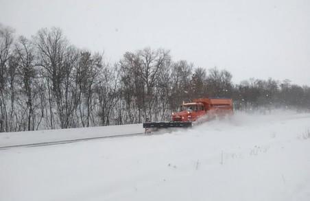 На дорогах Харківщини забезпечено проїзд транспорту
