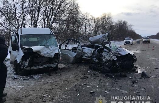На Харківщині сталася смертельна ДТП, чотири людини загинули(фото)
