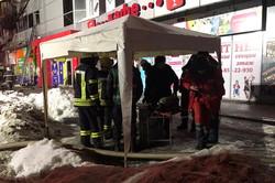 В Харкові загорівся торгівельний комплекс (фото)