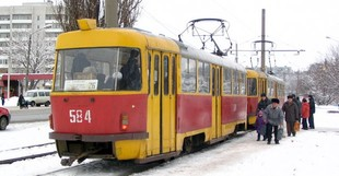 Деякі харківські трамваї їздитимуть за іншим маршрутом