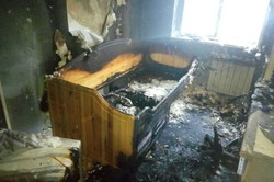 В Харкові внаслідок пожежі постраждав підліток