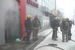 В Харкові згоріла сауна (фото)
