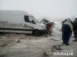 Внаслідок ДТП біля Харкова загинула жінка (ФОТО)