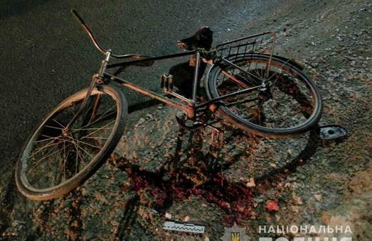 На Харківщині шукають свідків аварії, в якій сильно постраждав велосипедист(фото)
