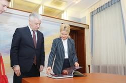 Голова ХОДА Світлична та посол Німеччини Райхель обговорили реалізацію спільних проектів