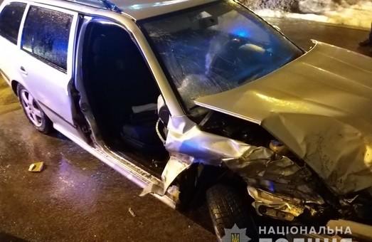 В Харкові затримали чоловіка, який в п'яному виді скоїв два ДТП (фото)