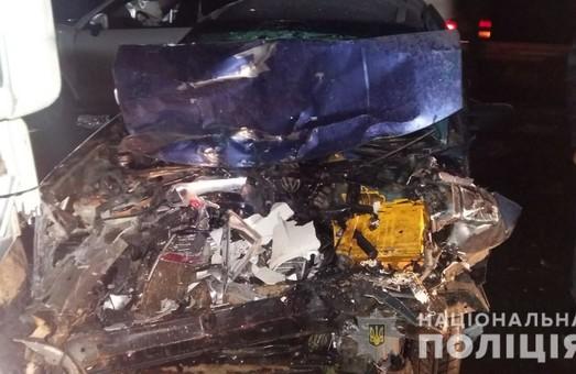 У ДТП на трасі «Київ-Харків-Довжанський» постраждав водій іномарки