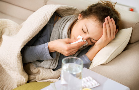 На Харківщині на грип та ГРВІ захворіли понад 6 тисяч людей