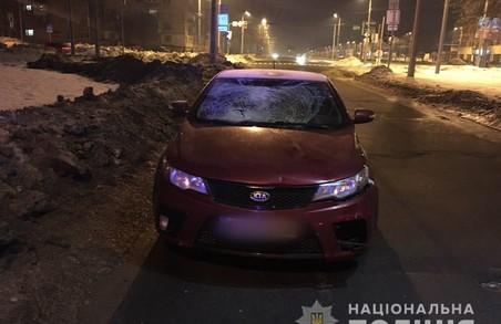 В Харкові розшукують свідків ДТП, в результаті якої сильно постраждав перехожий