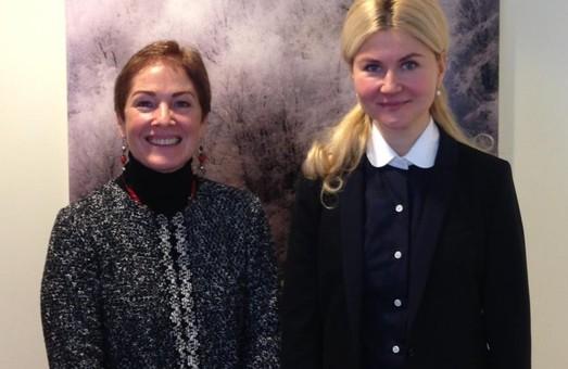 Юлія Світлична провела ще одну зустріч з послом США Марі Йованович
