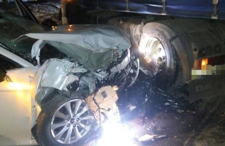 У Харкові внаслідок ДТП постраждали дві людини