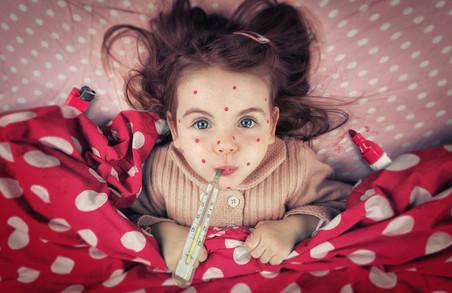 На Харківщині протягом тижня на кір захворіли більше ста осіб
