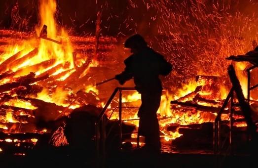 На Харківщині внаслідок пожеж загинули три людини