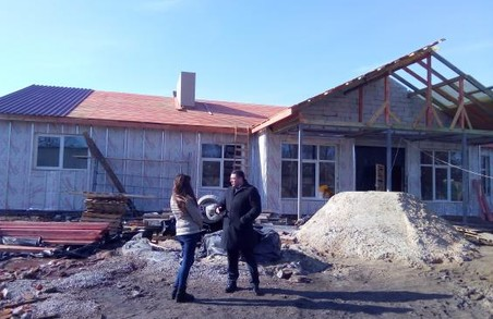 На Харківщині будують нову амбулаторію