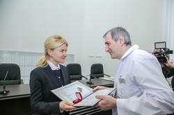 Світлична ознайомилася з результатами ремонту у Харківській обласній клінічній лікарні