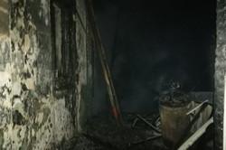 На Харківщині горів житловий будинок, загинула людина