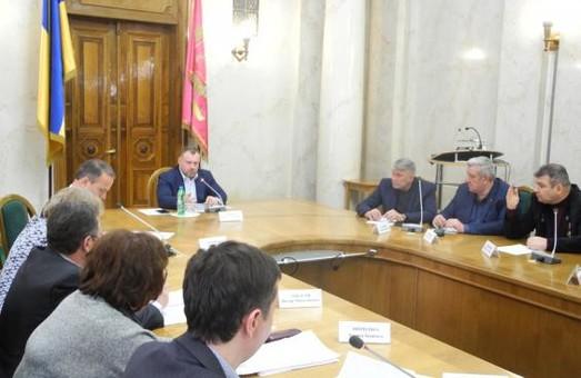 У ХОДА обговорили питання ремонту обласного диспансеру радіаційного захисту