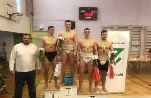 Харківські борці сумо завоювали медалі Кубку Європи