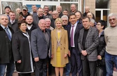 Світлична ознайомилася з ходом ремонтних робіт в обласній лікарні для чорнобильців