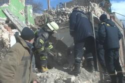 В Харкові обвалилася двоповерхова будівля, є постраждалий
