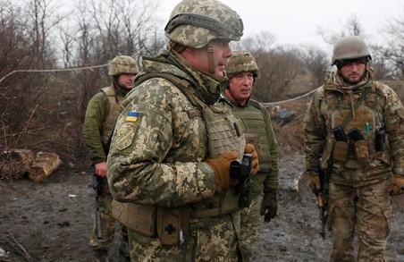 На Донбасі загинув український військовий, ще 4 отримали поранення