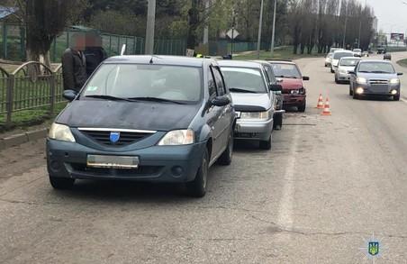 В Харкові сталася аварія за участі 4 авто