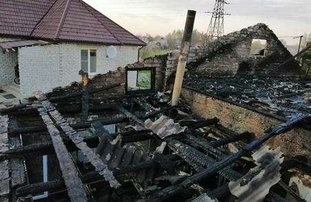 У Харкові під час пожежі постраждала жінка