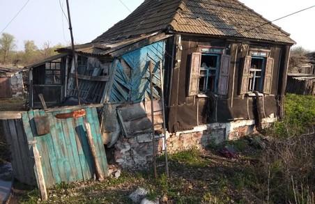 На Харківщині пожежа забрала життя пенсіонера