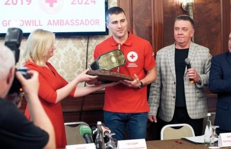 Олександр Гвоздик став Послом доброї волі