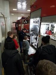 До харківських рятувальників завітали маленькі гості (ФОТО)
