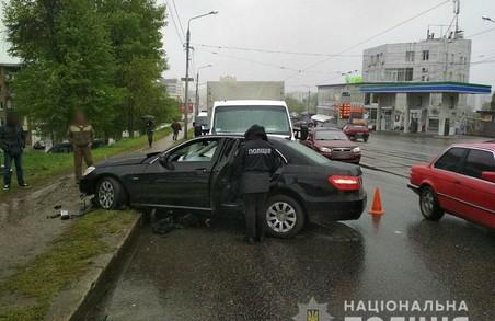 У Харкові чоловік скоїв подвійне ДТП на краденому авто