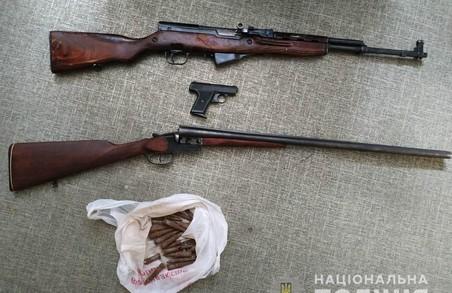 На Харківщині громадяни здали до органів поліції 369 одиниць зброї