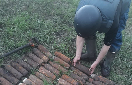На Харківщині було знешкоджено більше 250 боєприпасів