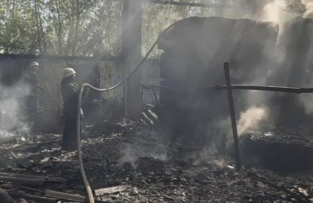 В Харкові палають склади