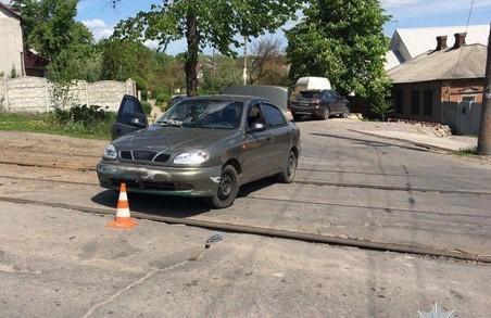 У Харкові сталася аварія за участю трьох автомобілів