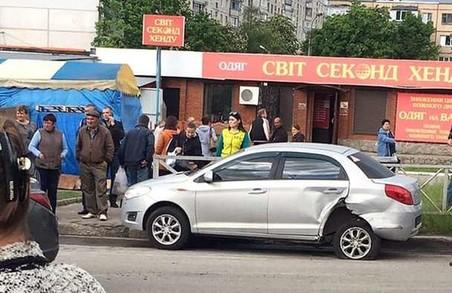 У Харкові п'яний водій влаштував ДТП